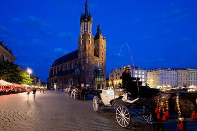 Old Town Square, Krakow, Poland