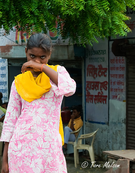 Woman in Agra, India
