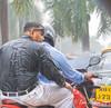 Monsoon in Mumbai, India
