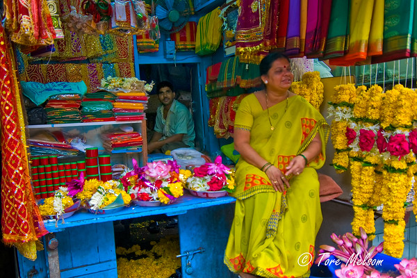 Woman in Mumbai, India