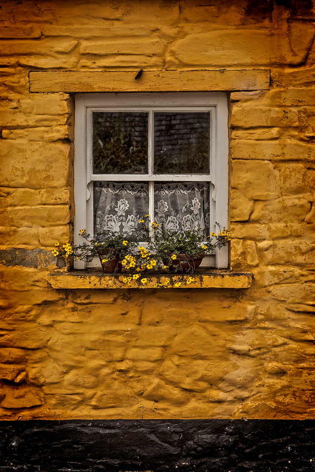 yellow wall n window