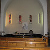 The chapel and shrine for Titus Brandsma, martyred by the Nazis - the urn contains ashes from Dachau.
