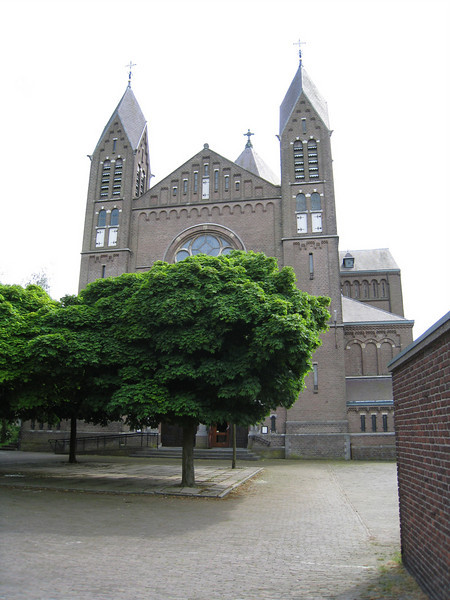 The Titus Brandsma church in Nijmegen -