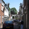 Up ahead, the Bruekelen Bridge -