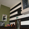 A friendly bar in Nijmegen. We liked the color scheme -