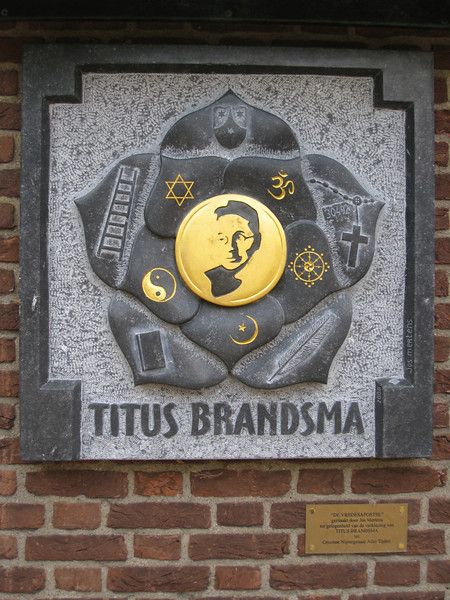 Brandsma is recognized as an inerfaith figure aswell -