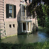Pocket-sized castle at Bruekelen. Tiny moat. Tiny spot to stand and feed the moat monsters.