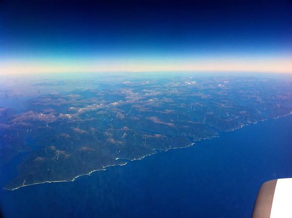 Crossing South Island's west coast