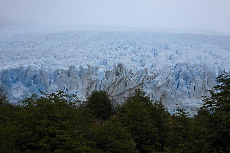 Perito Moreno Glacier, seen from the walkway above.