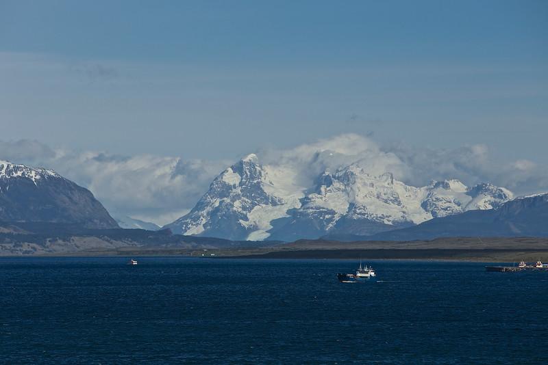 Last Hope Fjord near Puerto Natales.