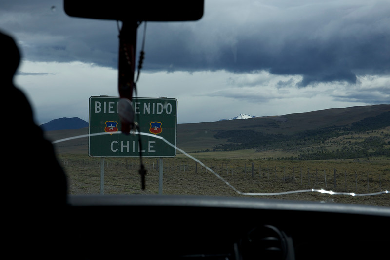 Back into vans, we crossed from Argentina into Chile.