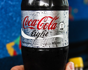 Not the usual Diet Coke, but very close.