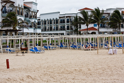 Resort in Playa del Carmen.