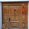 Tschlin door, heart and boots