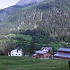 The house where we stayed is straight ahead, the last house at the end of the town.  The neighbors have four donkeys.