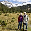 Bev and Steve in the Swiss National Park
