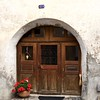 A Seraplana doorway, with heart.