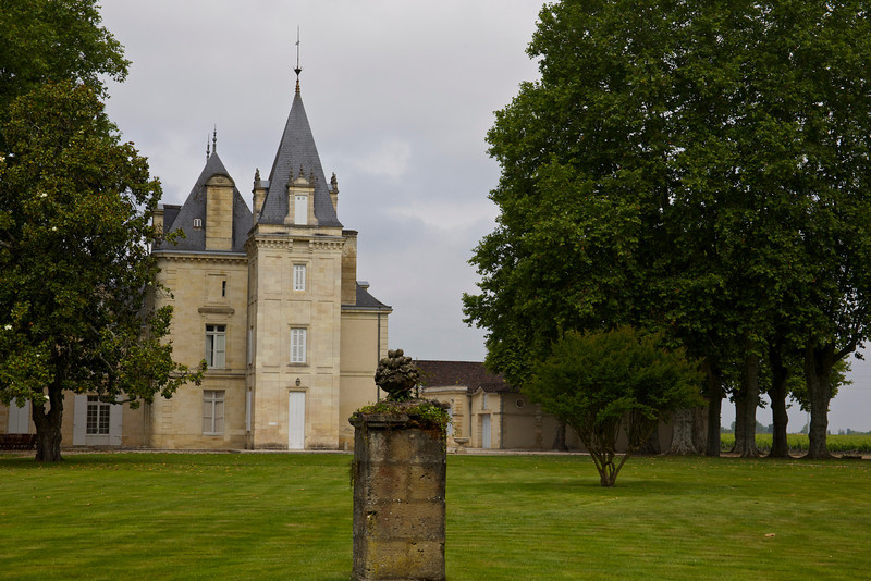 The Sleeping Beauty castle, Chateau Cantemerle, in the Haut-Medoc.