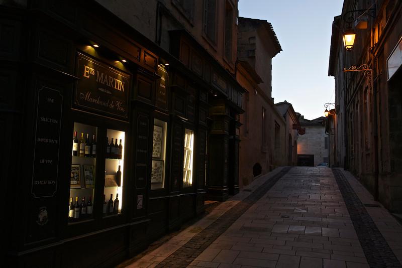 One of Saint-Émilion's wine merchants was just around the corner.