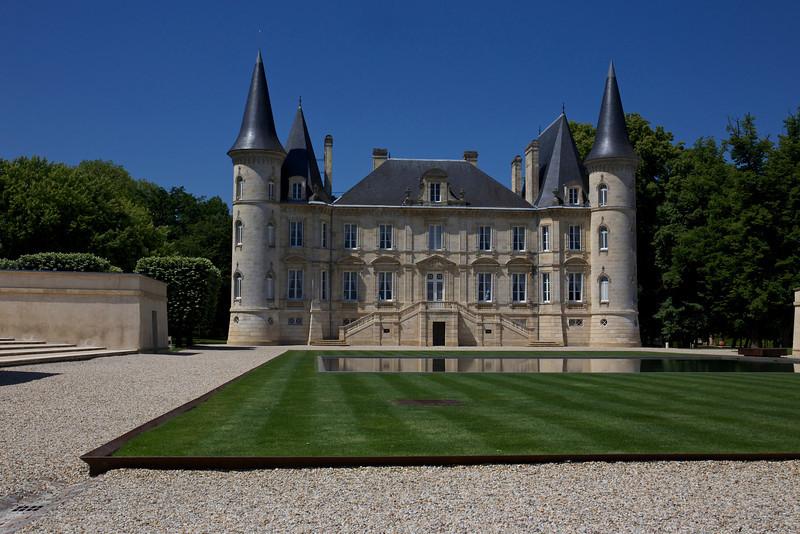 Chateau Pichon-Baron in Pauillac