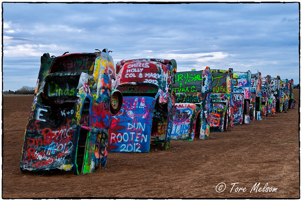 Cadillac Ranch, Amarillo TX