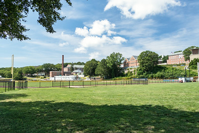 Campus viewed from Nelson W. Nitchman Field
