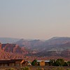 from Rim Rock Inn,  Torrey, UT at 7:10am