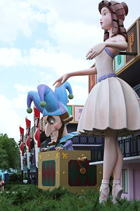 Fantasia Buildings - All-Star Movies Resort
