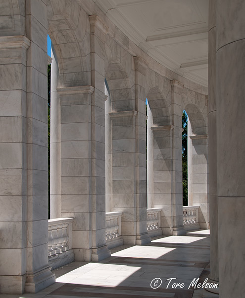 Arlington National Cemetery in Arlington County, Virginia