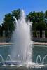 The U.S. National World War II Memorial, Washington DC