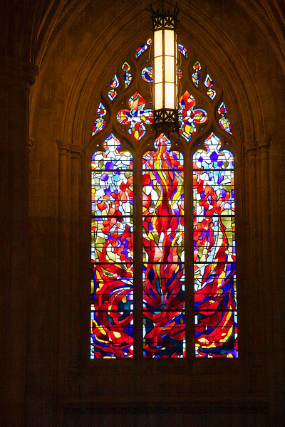 """The Agony of Civil War,"" Washington National Cathedral,<br /> gift from Abraham Lincoln's great-grandson"