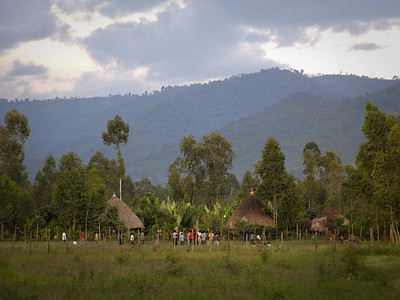 Mountain village in Wondo Genet, Ethiopia.