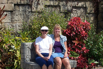 Aunt Susan and Pam at Palm Beach Zoo, FL