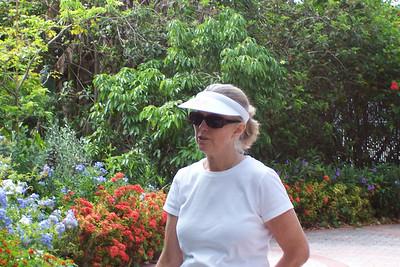 Aunt Susan at Palm Beach Zoo, FL