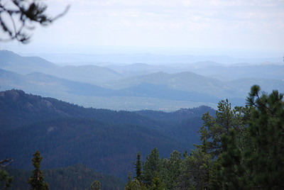 Harney Peak Trail in Custer State Park, Custer, SD