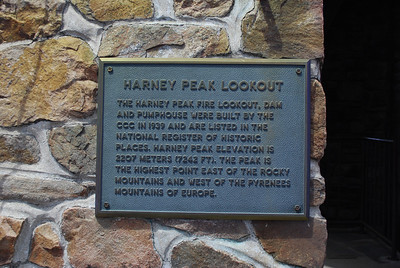 Harney Peak Lookout in Custer State Park, Custer, SD