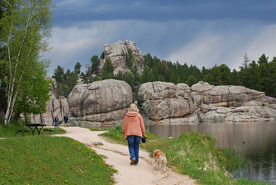 Sylvan Lake Shore Trail at Custer State Park, Custer, SD