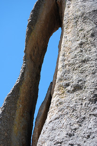 The needle at Custer State Park, Custer, SD