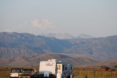 Campground views, Boulder, WY