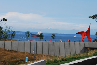 View of Puget Sound, Seattle, WA