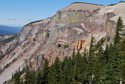 Pumice Castle, Crater Lake National Park, Crater Lake, OR