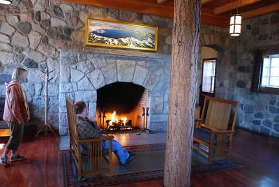 INside Crater Lake Lodge, Crater Lake National Park, Crater Lake, OR
