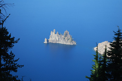 Phantom Ship, Crater Lake National Park, Crater Lake, OR