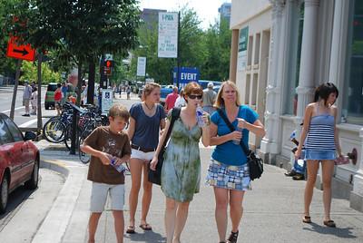 Stuart Family visit, 7-23-09 003