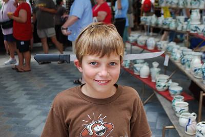 Stuart Family visit, 7-23-09 006