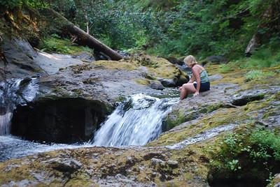 Bagby Hot Springs, Estacada OR 9-3-09 048