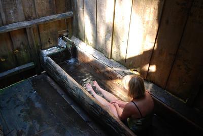Bagby Hot Springs, Estacada OR 9-3-09 036