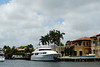 Mansion + yacht on the intracoastal waterway.  Some serious money in them thar parts...