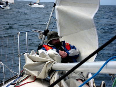 These foredeck people....do they every do anything? :-)