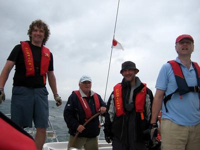 John, Eddie, Eammon and Ben.